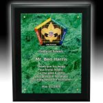 Acrylic Faceplate Plaque Acrylic Awards | Acrylic Trophies